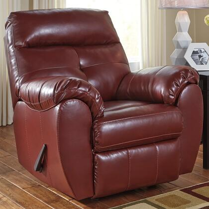 Bastrop Rocker Recliner Crimson