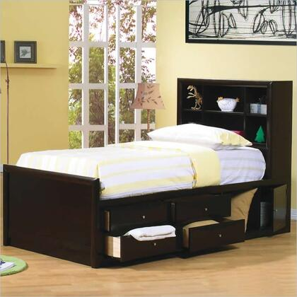 Coaster 400180F Phoenix Series  Full Size Bookcase Bed