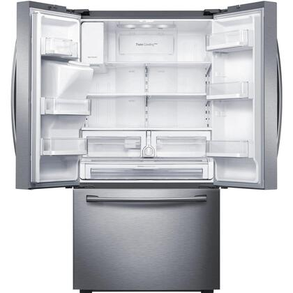 Samsung RF23HTEDBSR 36 Inch Counter Depth French Door Refrigerator ...