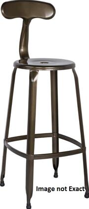 Chintaly 8035BSWHT4SET 8035 Bar Stools