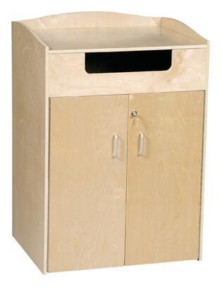Guidecraft G6438 Freestanding Wood 0 Drawers Cabinet