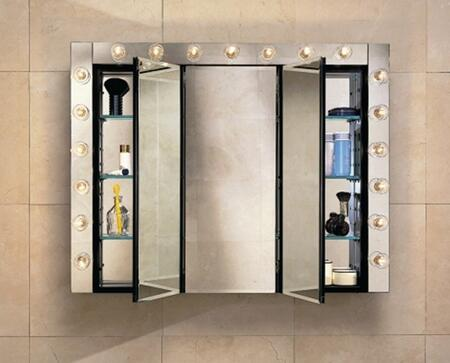 Robern PLM3630W PL Series Triple  Cabinet