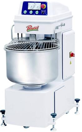 Presto PSMx Spiral Mixer with lbs Flour Capacity, lbs Dough Capacity, HP, 2 Speeds, in White