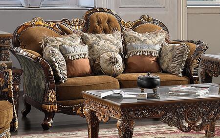 Homey Design HD260S  Stationary Fabric Sofa