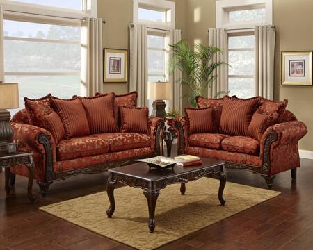 Chelsea Home Furniture 724400SLCH Cecelia Living Room Sets