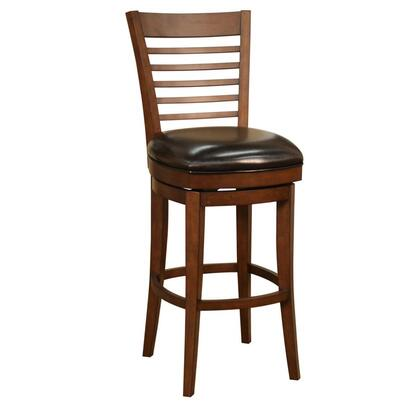American Heritage 130882MCL11 Baxter Series Residential Leather Upholstered Bar Stool