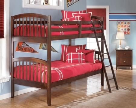 Signature Design by Ashley B45157P57R57S Nico Series  Twin/Twin Size Bunk Bed