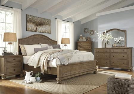 Milo Italia BR7536PCKP6DDLM23DN5DCKIT1 Goodwin King Bedroom