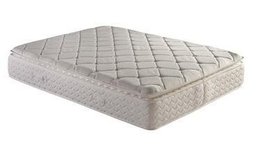 "Atlantic Furniture M4622 Dreamweaver Triumph Memory Foam 13"" Size Pillow Top Mattress with 7"" Pocketed Steel Coil Springs, 3"" High Density Foam Encasement and 2"" Convoluted Memory Foam"