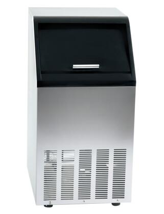 Orien FS65IM  Freestanding and Built-In Ice Maker with 65 lbs. Daily Ice Production, 25 lbs Ice Storage, in Stainless Steel