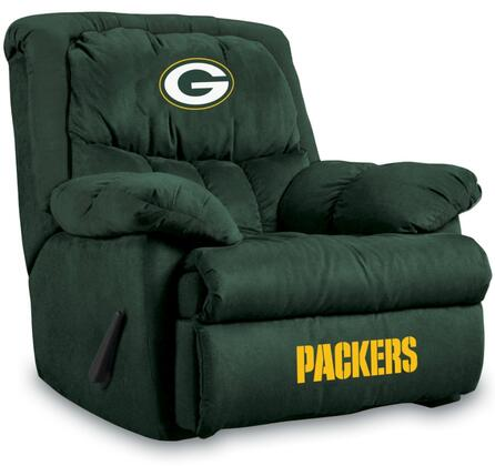 """Imperial International 141-10 NFL Themed 38"""" Wide Microfiber Home Team Recliner"""