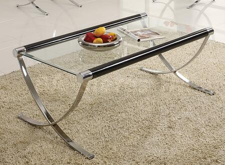 Acme Furniture 18420 Chromed Plated Contemporary Table