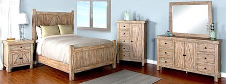 Sunny Designs 2307WBQBDM2NC Durango Queen Bedroom Sets