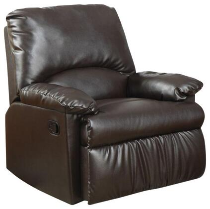 Coaster 600270 Recliners Series Traditional Vinyl Wood Frame Rocking Recliners