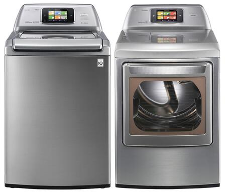 LG WT6001HVAPAIR1 Washer and Dryer Combos
