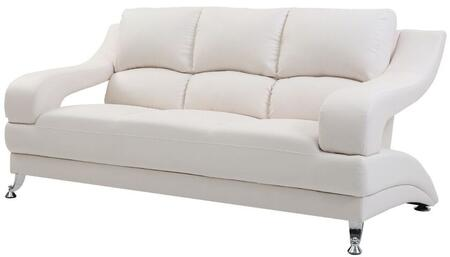 Glory Furniture G247S  Stationary Faux Leather Sofa