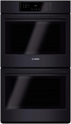 Bosch HBL86x1UC 500 Series Microwave Combination Oven with 10 Sensor Cooking Programs, Defrost Function, Bake, Variable Broil and Multi Rack Genuine European Convection, in