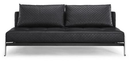 Lifestyle Solutions MCDEMOBSET Marquis Series Convertible Faux Leather Sofa