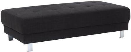Glory Furniture G441O Milan Series Fabric Ottoman