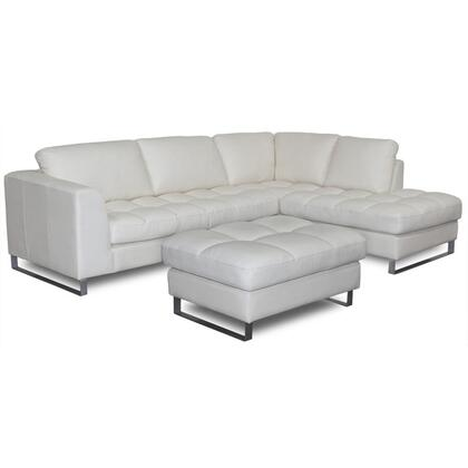 Diamond Sofa VALENTINORF2PCSECTOTTOC  Sofa in Beige |Appliances Conncetion