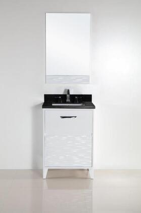 Bellaterra Home 500709 Vanity and Mirror Set