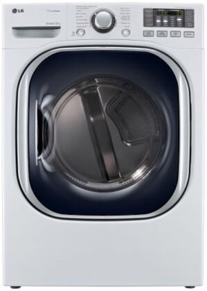LG SteamDryer DLGX4071 7.4 cu. ft. Ultra Large Capacity Gas Dryer With TrueSteam Technology, SteamFresh Cycle, SteamSanitary Cycle, Intelligent Electronic Controls, Dual LED Display & In