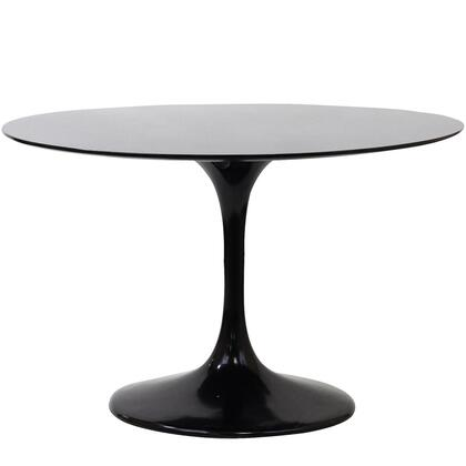 "Modway EEI-120 Lippa 24"" Fiberglass Side Table with Modern Design, Fiberglass Construction, Scratch and Chip Resistant"