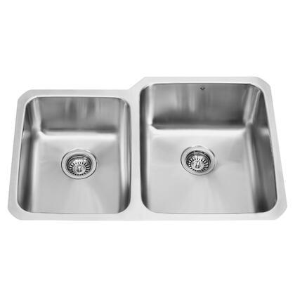 Vigo VG3221R Stainless Steel Kitchen Sink