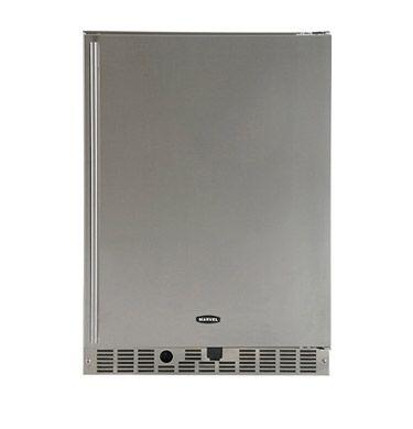 Marvel 60ARMSSBLR  Built In Counter Depth Compact Refrigerator with 6.1 cu. ft. Capacity, Glass