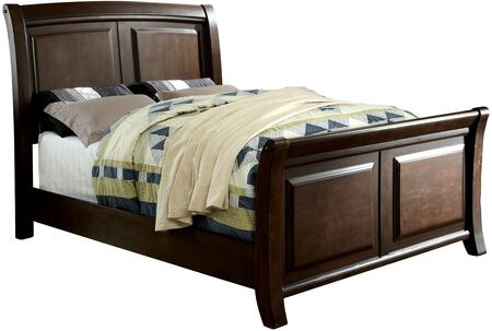 Furniture of America CM7383CKBED Litchville Series  California King Size Bed