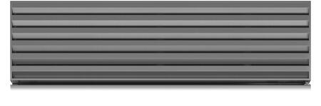 "Sub-Zero 700354 48"" Stainless Steel Pro Louvered Grille for XX"" Finished Height"