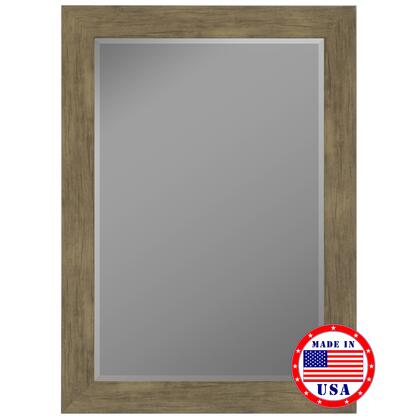 Hitchcock Butterfield 81200X 2nd Look Weathered Sand Barn Siding Grande Framed Wall Mirror