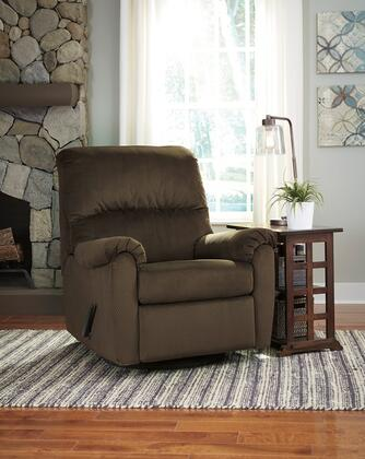Flash Furniture FSD1119RECGLDCOAGG Bronwyn Series Contemporary Fabric Metal Frame  Recliners