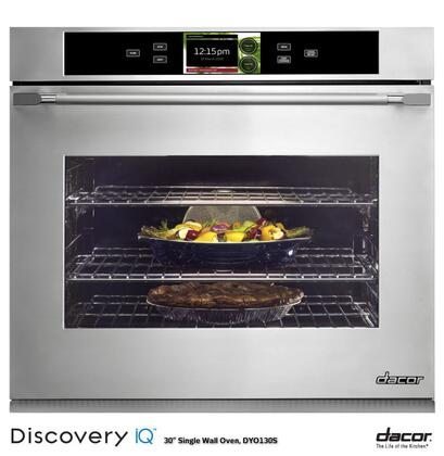 "Dacor Discovery iQ DYO130 30"" 4.8 cu. ft. Single Wall Oven, with Android Interface, Electronic Control Panel, Steam Cleaning Technology, 10 Cooking Modes, 7 Rack Positions, and Halogen Lighting"
