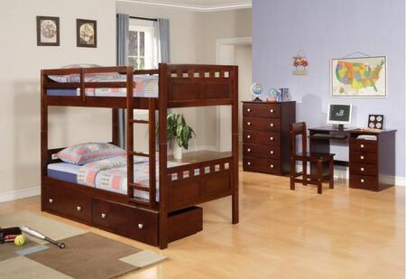 Donco 0104CPTT8  Twin Size Bunk Bed