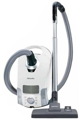 Miele Miele 41C Compact C1 Pure Suction Canister Vacuum with a Compact Design, Airclean Sealed System and Airclean Filter, Vortex Adjustable Suction Motor, Dusting Brush, upholstery and Crevice Tool in