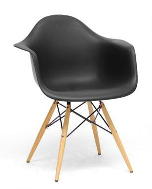 Wholesale Interiors DC866X Pascal Series Plastic Mid-Century Modern Shell Chair