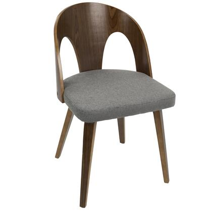 LumiSource Ava Series Ava Chair EL GY 2000 Main