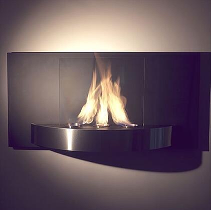 Nu-Flame NFW4VIO Wall Mountable Bioethanol Fireplace