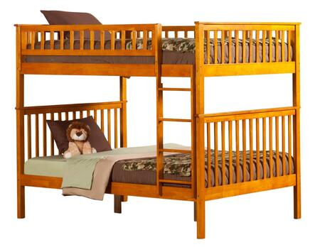Atlantic Furniture AB56507  Full Size Bunk Bed