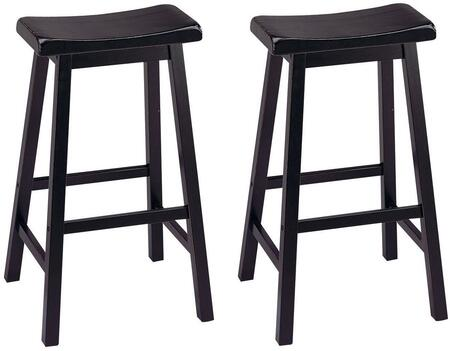 Acme Furniture 07308 Gaucho Series Residential Not Upholstered Bar Stool