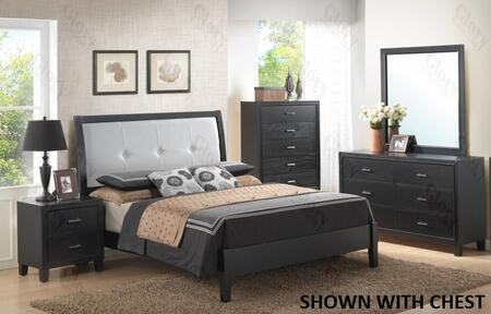 Glory Furniture G1250EKB3DMN G1250 King Bedroom Sets