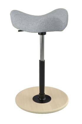"""Varier MOVE 2600 HALLINGDALE 19"""" - 27"""" Sit-Stand Chair with Hallingdale Upholstery,"""