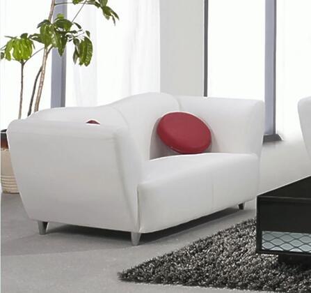Chintaly DALTONLVS Dalton Series Stationary Bonded Leather Sofa