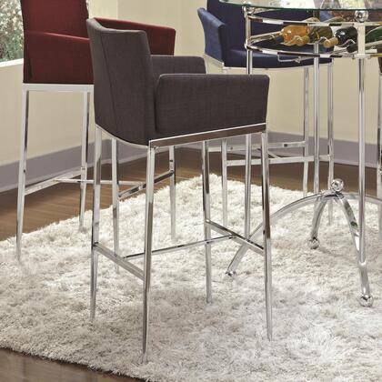 Coaster 1207xx Linen Fabric Bar Stool