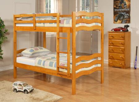 Donco 0105HTT8  Twin Size Bunk Bed