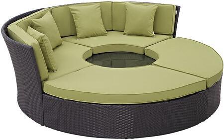 """Modway EEI2171EXPPERSET 86.5"""" Water Resistant Outdoor Bed"""