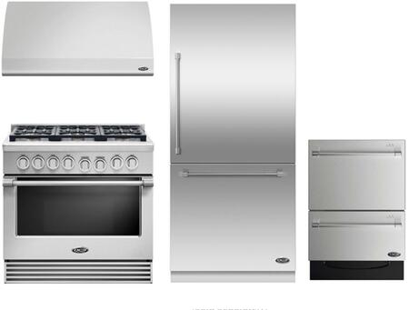 DCS 719438 Professional Kitchen Appliance Packages