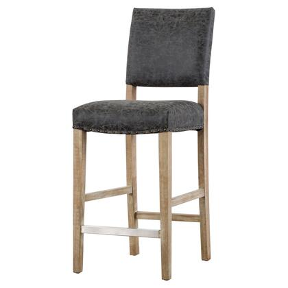 New Pacific Direct Template: Arthur Collection 3900035-NCE PU Counter Stool in Nubuck Chocolate