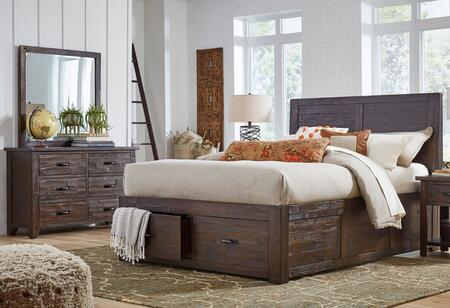 Jofran 1605QPBDM Jackson Lodge Youth Queen Bedroom Sets